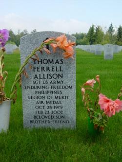 Sgt Thomas Ferrell Allison