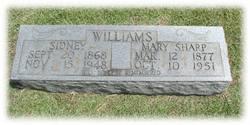 Mary <i>Sharp</i> Williams
