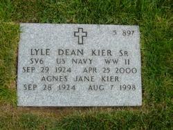 Lyle Dean Kier, Sr