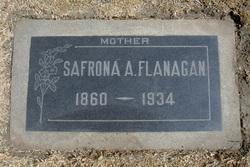 Safronia Adeline <i>Pafford</i> Flanagan