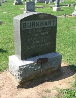 Mary Jane <i>Uglow</i> Burkhart