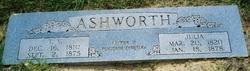 Julia Elizabeth <i>Tubb</i> Ashworth