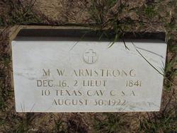 Martin Wiley Armstrong