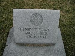 Henry Thomas Rainey