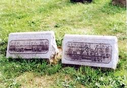 Gertrude <i>Faris</i> Alexander