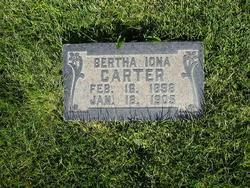Bertha Iona Carter