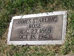 James Starling Rose