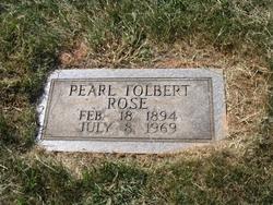 Pearl M. <i>Tolbert</i> Rose
