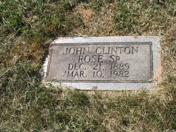 John Clinton Rose, Sr