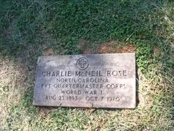 Charlie McNeil Rose