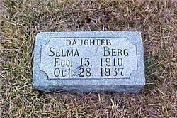 Selma <i>Buller</i> Berg