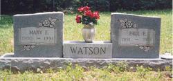 Paul Edgar Watson