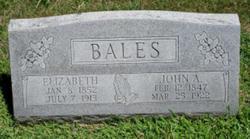 Elizabeth <i>Baty</i> Bales