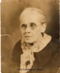 Lucy Indiana <i>Coddington</i> Lafuze