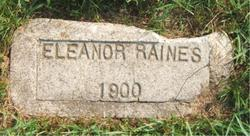Eleanor W. Raines