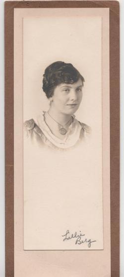 Lillie Esther <i>Berg</i> Anderson