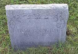 Virgie <i>Hamilton</i> Arrington