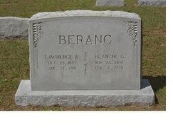 Blanche Genevieve <i>Porson</i> Beranc