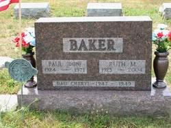 Ruth Meriam <i>Stegner</i> Baker