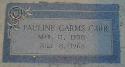 Pauline <i>Garms</i> Carr
