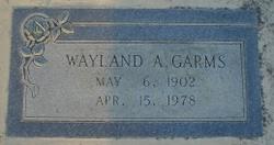 Wayland Andrew Garms
