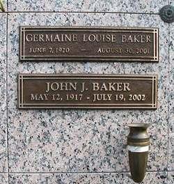 John J Baker