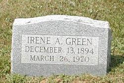 Irene A Green