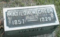 Matilda Wilhelmine <i>Ostheim</i> Green