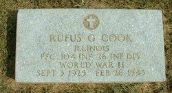 Rufus Gordon Cook