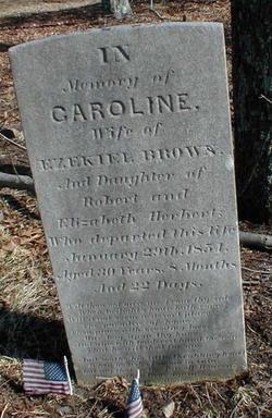 Caroline <i>Herbert</i> Brown