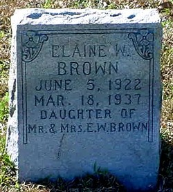 Elaine W Brown