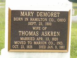 Mary <i>Demoret</i> Askren