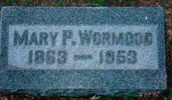 Mary Ann Mollie <i>Palmer</i> Wormood