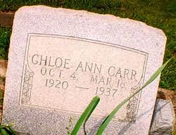 Chloe Ann Carr