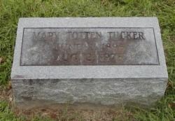 Mary <i>Totten</i> Tucker