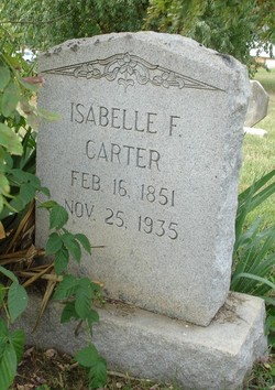 Isabell F. Carter