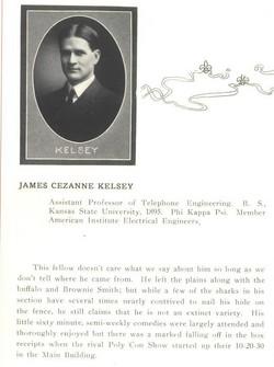 James Cezanne Kelsey, III