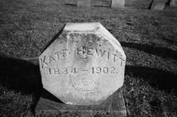 Catharine (Kate) Mary Hewitt