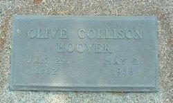 Olive <i>Collison</i> Hoover