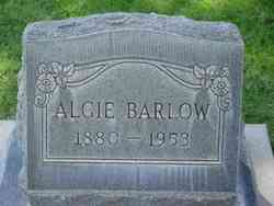 Algie Barlow