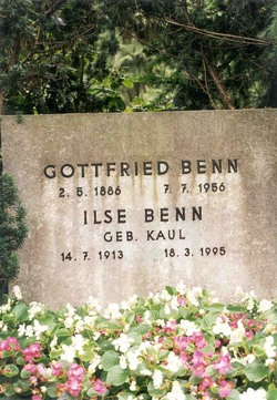 Dr Gottfried Benn