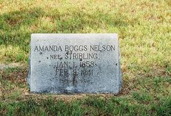 Amanda <i>Stribling</i> Boggs Nelson