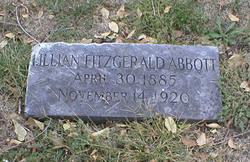 Mary Lillian <i>Fitzgerald</i> Abbott