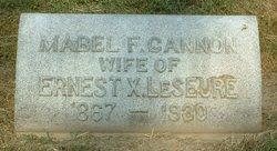 Mabel F. <i>Cannon</i> LeSeure