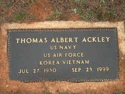 Thomas Albert Ackley