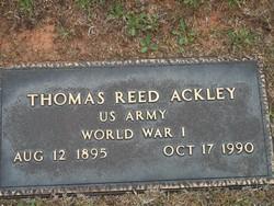 Thomas Reed Ackley