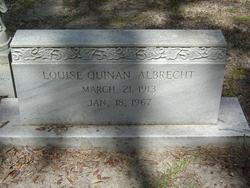 Louise Genevieve <i>Quinan</i> Albrecht