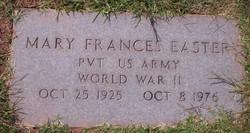 Mary Frances <i>McCraw</i> Easter