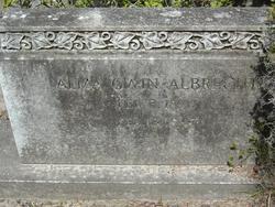 Alma Gwin Albrecht