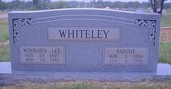 Fannie Whiteley